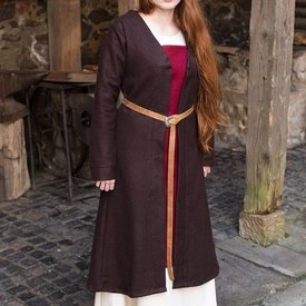 Burgschneider Mantello di Birka Aslaug in lana, marrone