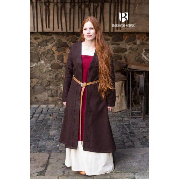 Burgschneider Capa Birka Aslaug lana, marrón
