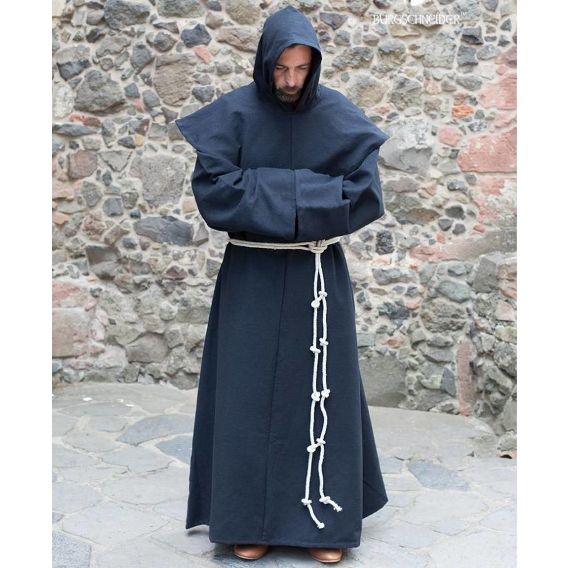 Burgschneider Benedictijnse habijt monnikspij, zwart