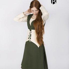 Burgschneider Cotton corset Thana, natural