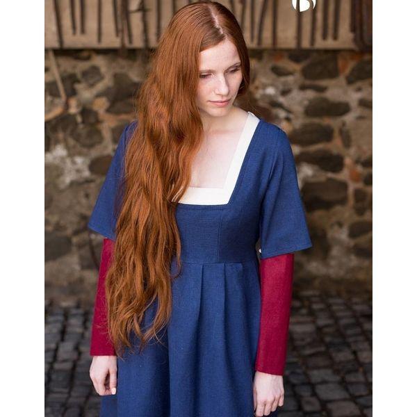 Burgschneider Mouwen Middeleeuwse jurk Frideswinde rood