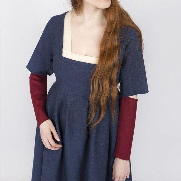 Burgschneider Ærmer Medieval kjole Frideswinde rød