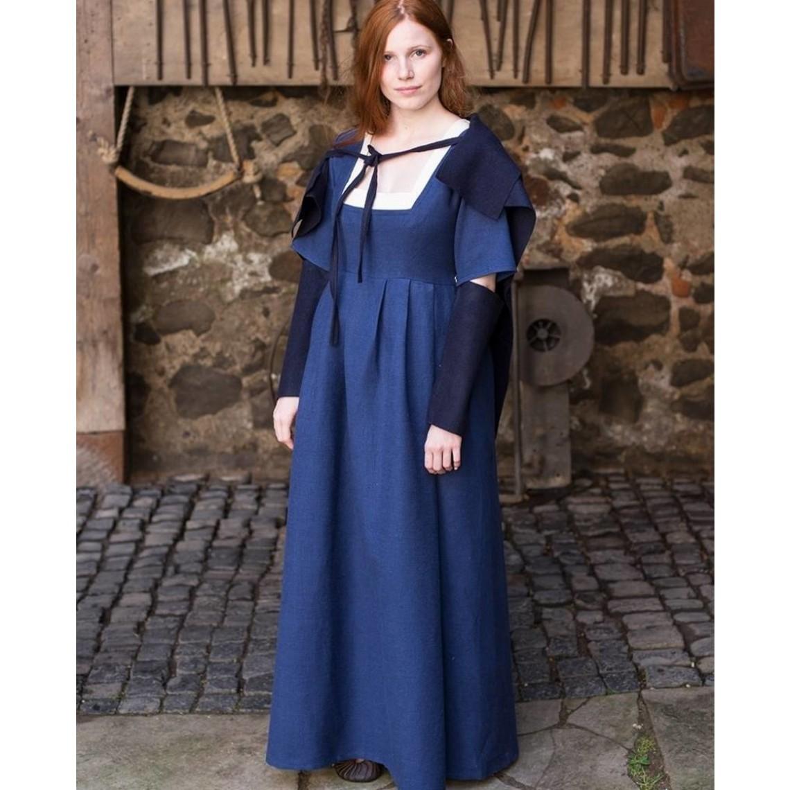 Burgschneider Maniche Dress medievale Frideswinde blue