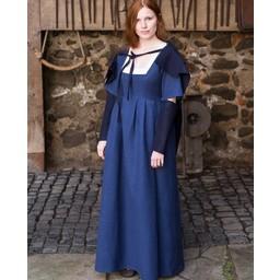 Ärmar Medeltida klänning Frideswinde blue