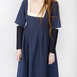 Sleeves Medieval dress Frideswinde blue