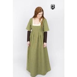 Sleeves Medieval dress Frideswinde brown