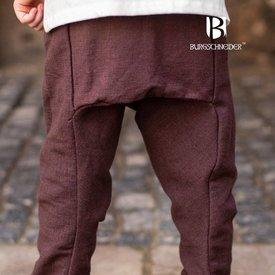 Burgschneider Spodnie dla dzieci Thorsberg Ragnarsson, brązowy