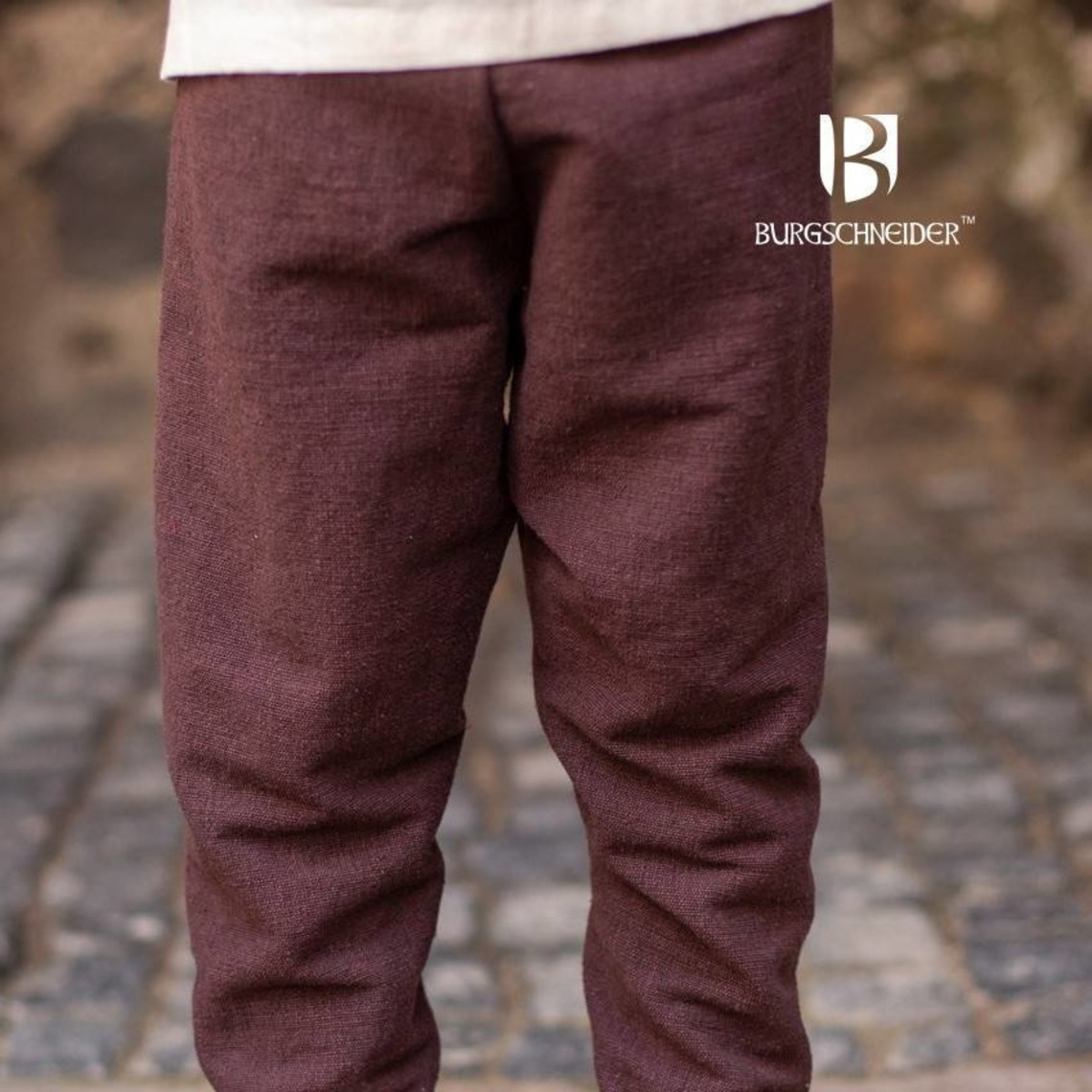 Burgschneider Kids Thorsberg trousers Ragnarsson, brown