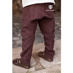 Spodnie dla dzieci Thorsberg Ragnarsson, brązowy