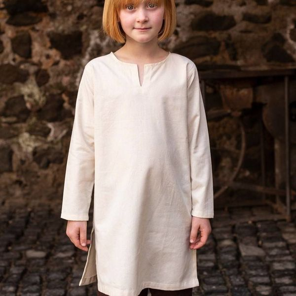 Burgschneider Kinder Tunika Leifsson, natürliche