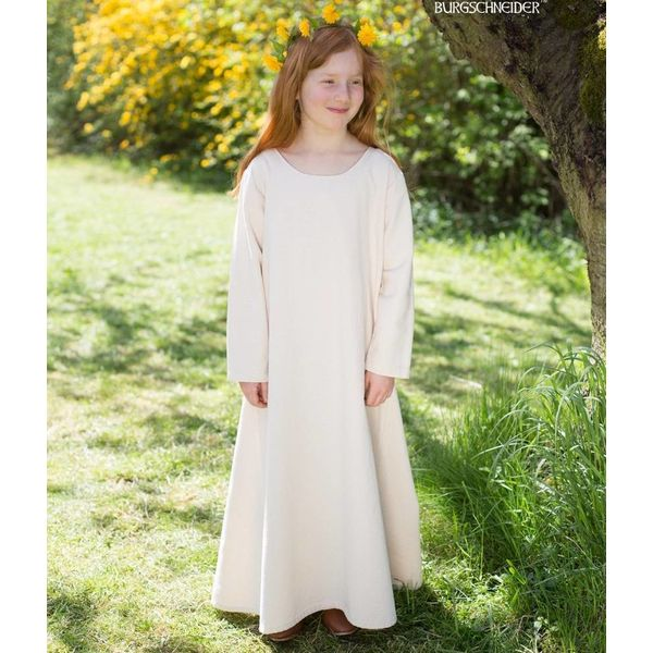 Burgschneider Middeleeuwse jurk Ylvi, naturel
