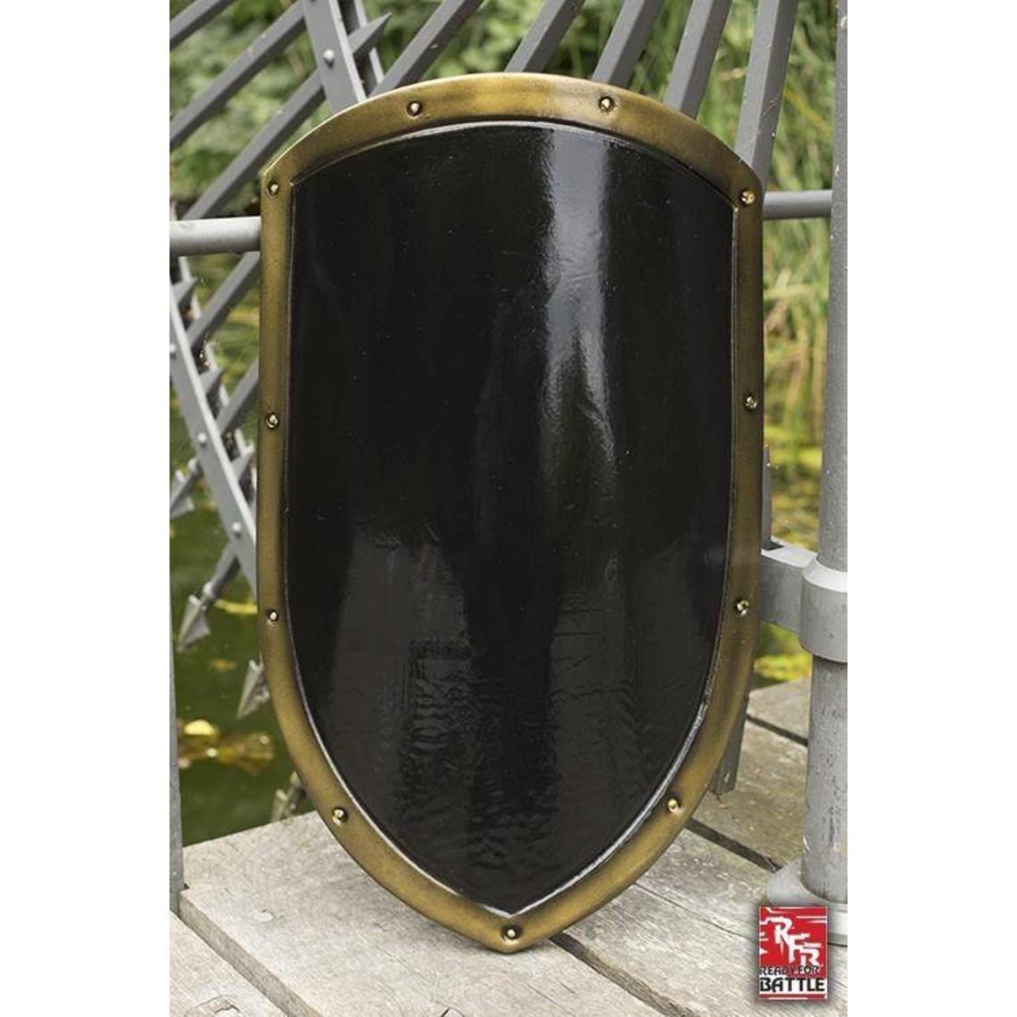Epic Armoury LARP vliegerschild zwart