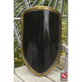 Epic Armoury LARP kite shield noir