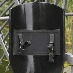 LARP latawiec tarcza czarna