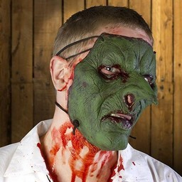 Goblin Trophy Mask, LARP Mask