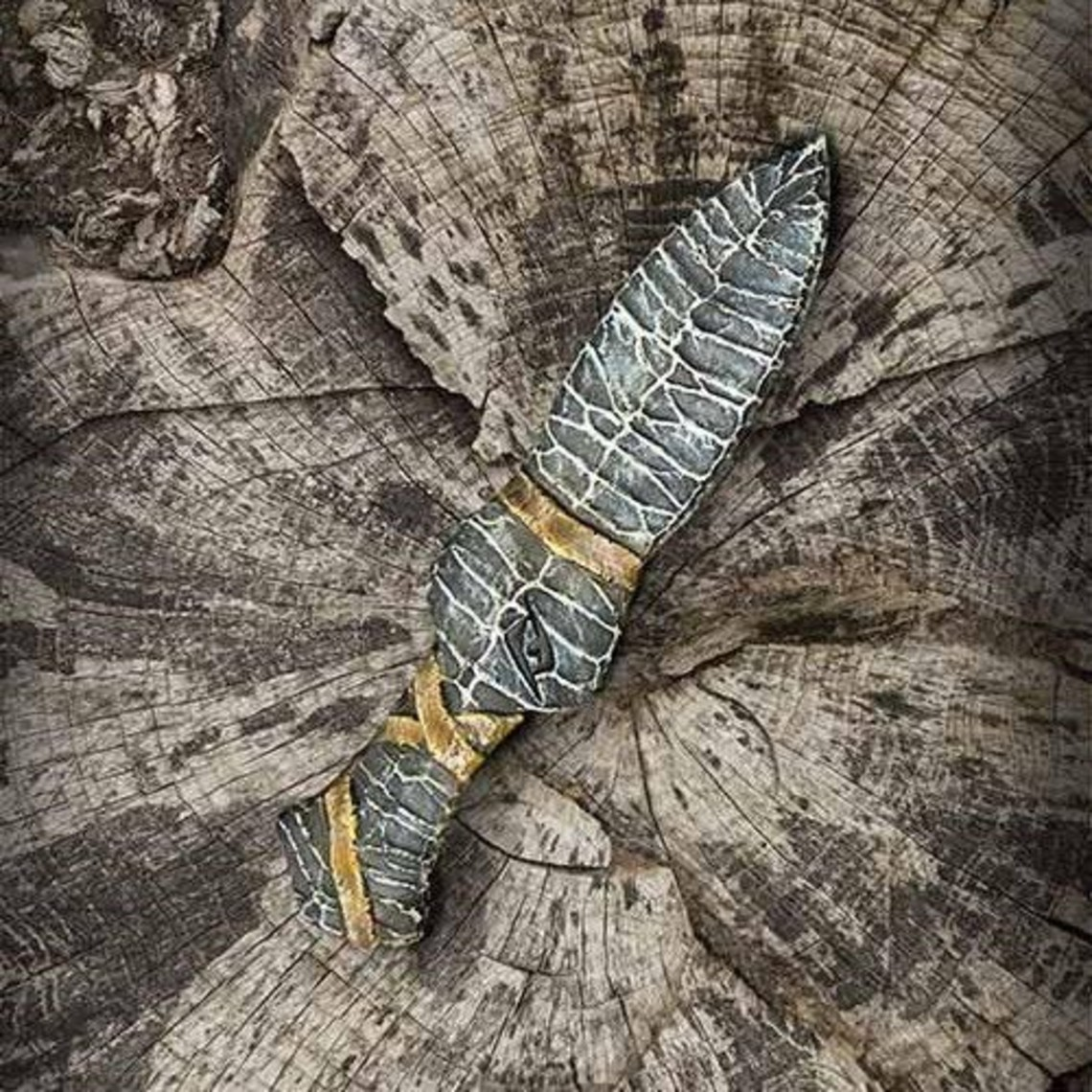 Epic Armoury Cuchillo de piedra LARP