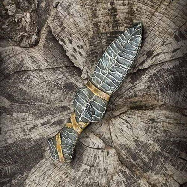 Epic Armoury LARP steentijd mes