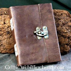 House of Warfare Læder håndbunden bog med lås
