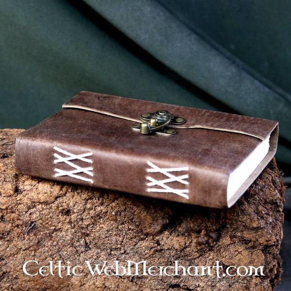 House of Warfare Leren handgebonden boek met slot