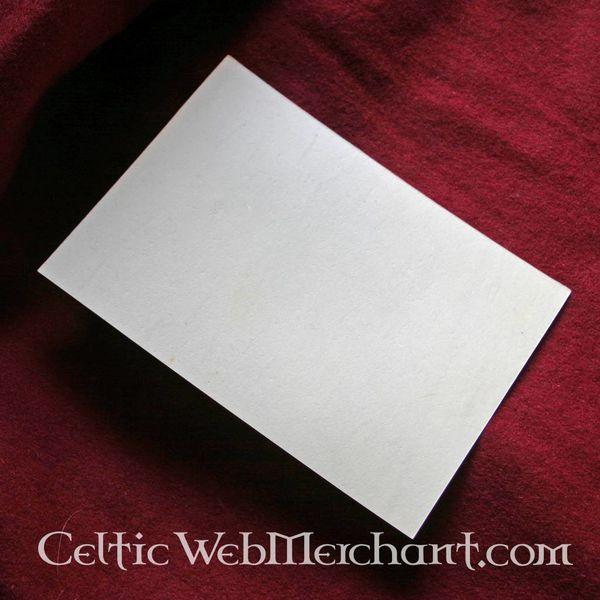 Pergament Blatt 15x10 cm
