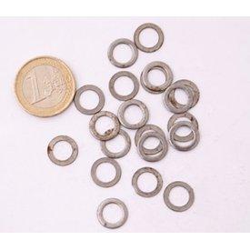 Ulfberth 1 kg d'anneaux plats non rivetés, 8 mm