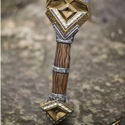 Dwarf LARP Doppel Schneide Schwert