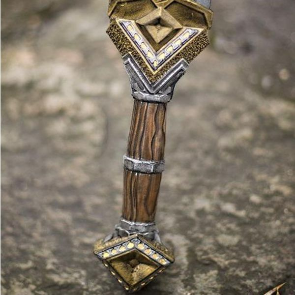 Epic Armoury LARP Dwarf Double Edge svärd