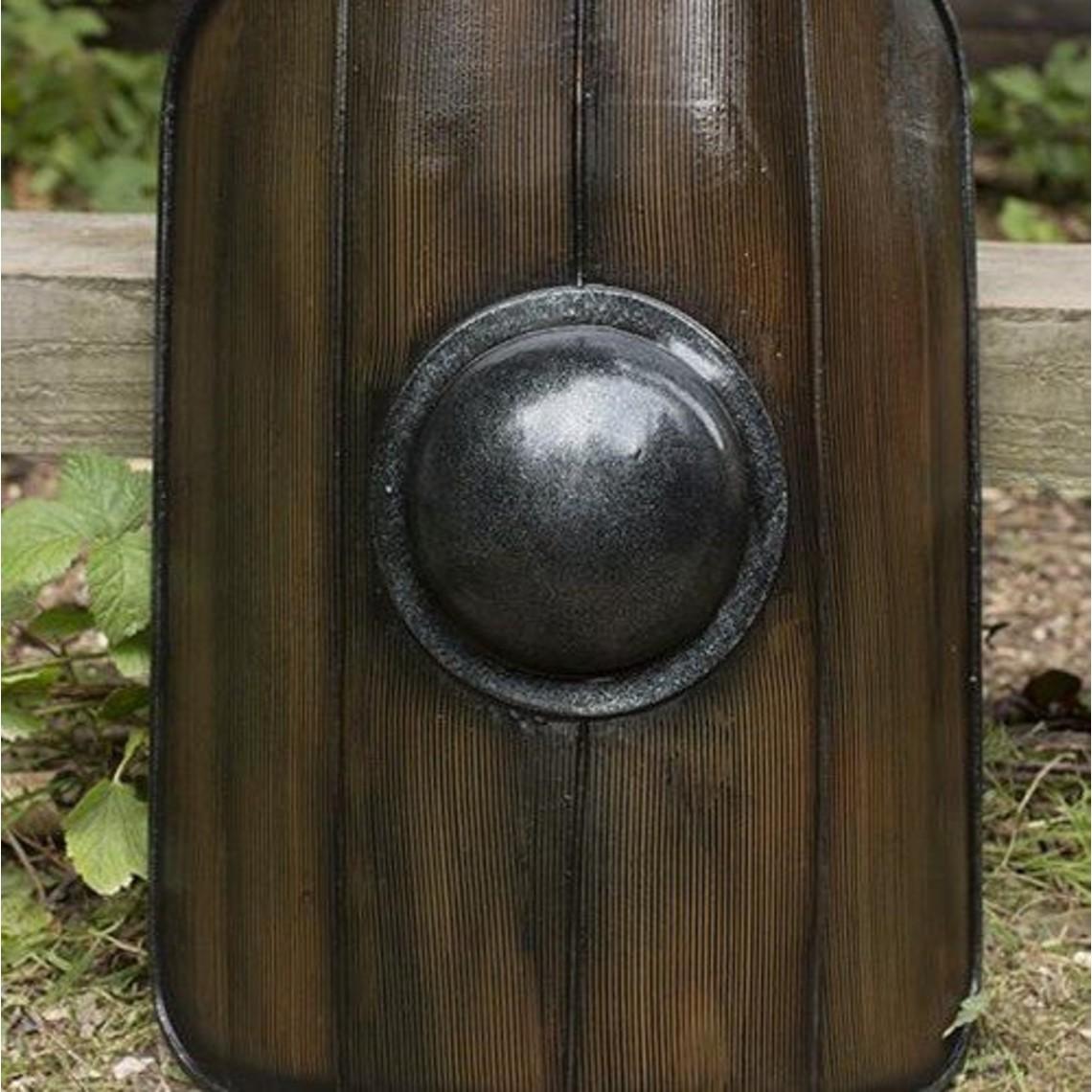 Epic Armoury Gladiador Escudo, madera pintada, escudo LARP