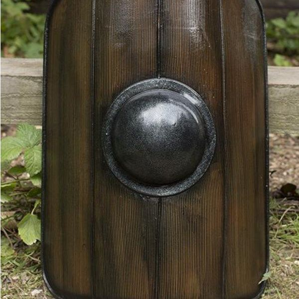 Epic Armoury Gladiator Shield, Wood, LARP Shield