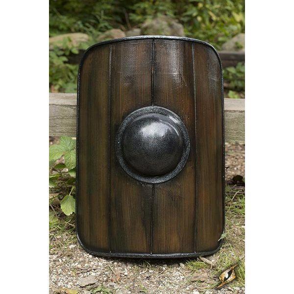 Epic Armoury Gladiator Schild, hout geschilderd, LARP schild