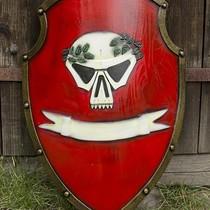 Epic Armoury LARP keizerlijk schild rood