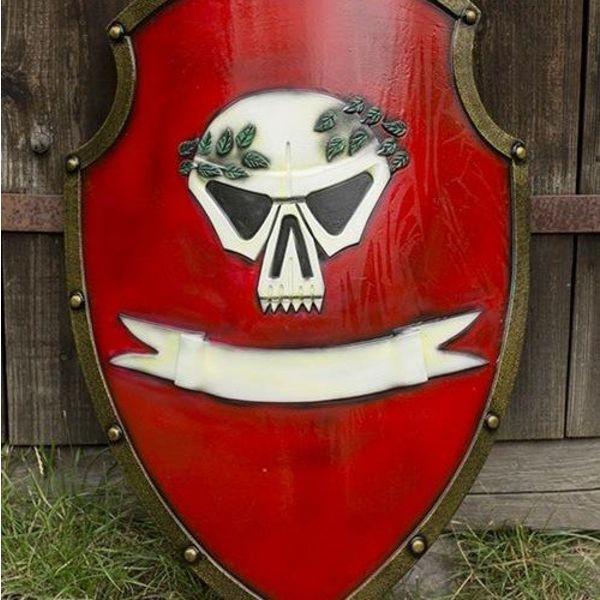 Epic Armoury LARP kejserlige Skjold rød
