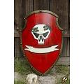 Epic Armoury LARP escudo imperial rojo