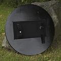 Epic Armoury LARP RFB roundshield verde / negro