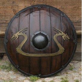 Epic Armoury LARP Viking dragon Sköld