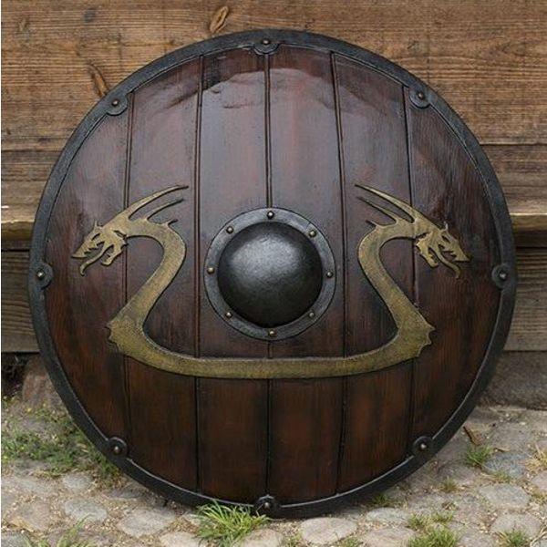 Epic Armoury LARP Viking dragon shield