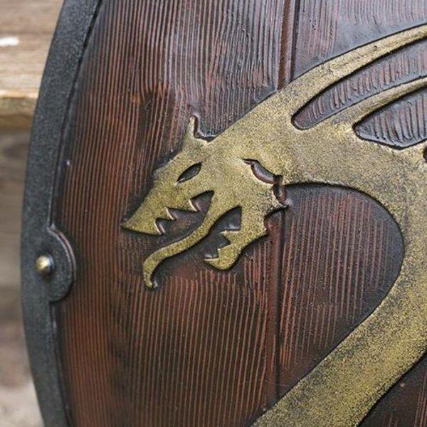 Epic Armoury scudo drago GRV vichingo