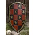Epic Armoury GRV scacchi Scudo rosso / nero / oro