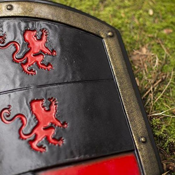 Epic Armoury LARP Lion shield red/black/white