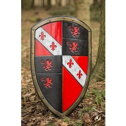 LARP Lion shield red/black/white