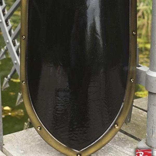 Epic Armoury LARP kite shield noir