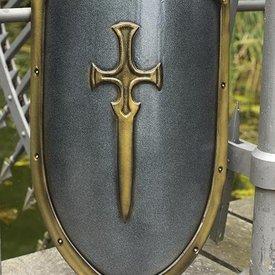 Epic Armoury LARP RFB dekorerade drake sköld