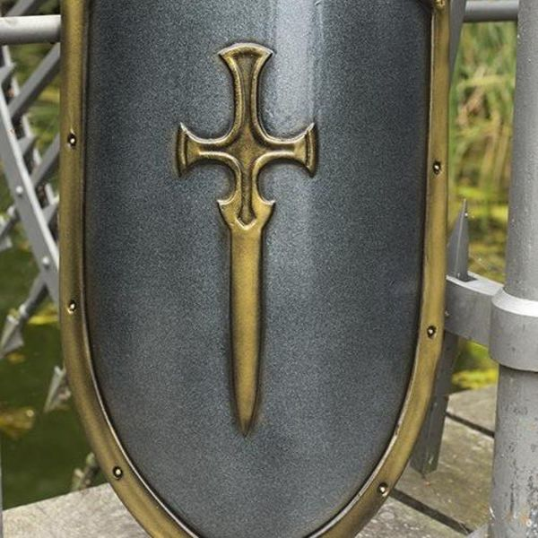 Epic Armoury LARP RFB decorated kite shield