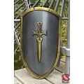 Epic Armoury LARP RFB decorado escudo de kite