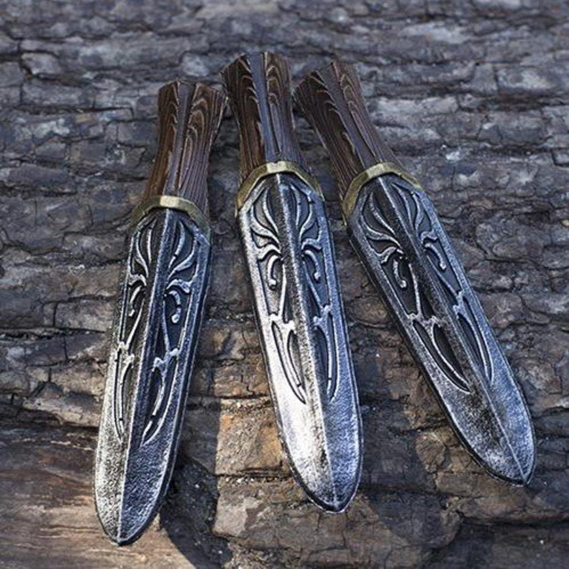 Epic Armoury LARP Assassin Unity messen set van 3 stuks
