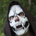 Epic Armoury Schedelmasker wit