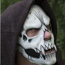 Skull Trophy Mask, wit