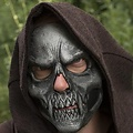 Epic Armoury Schedelmasker zilver