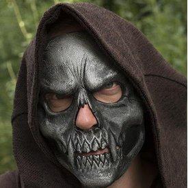 Epic Armoury Kraniet Trophy Maske, sølv