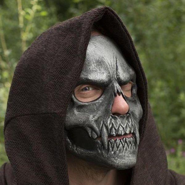 Epic Armoury Skull Trofeo Maschera, argento